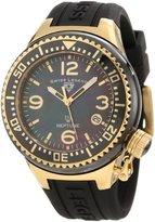 Swiss Legend Women's SL-11844-BKBGA Neptune Mother of Pearl Silicone Watch
