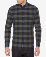 Original Penguin Men's Heritage End-On-End Plaid Shirt