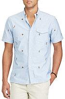 Polo Ralph Lauren Nautical Print Short-Sleeve Woven Shirt