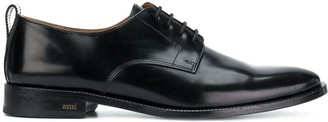 Ami Paris Derbies With Thick Leather Sole