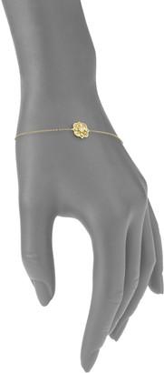 Amrapali Heritage 18K Yellow Gold & Diamond Mosaic Fine Chain Bracelet