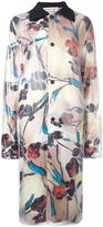 Marni floral print coat