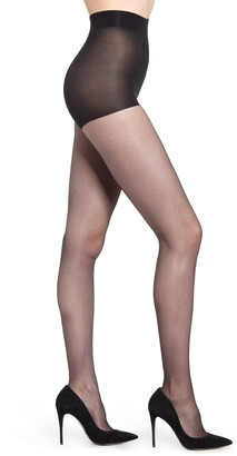 Natori Silky Sheer 2-Pack Control Top Pantyhose