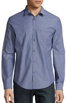 HUGO BOSS Bansi Pinstriped Cotton Poplin Sportshirt