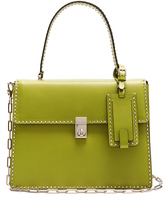 Valentino Rockstud Spike leather tote