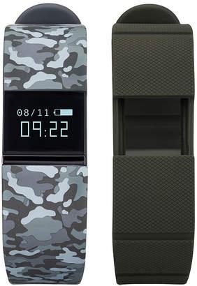 IFITNESS Ifitness Activity Tracker Unisex Adult Digital Multicolor Smart Watch-Ift5499bk668-078