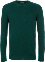 Roberto Collina crew neck sweater - men - Nylon/Camel Hair/Merino - 48
