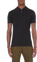 Paul Smith Slim-fit paisley cotton-piqué polo shirt