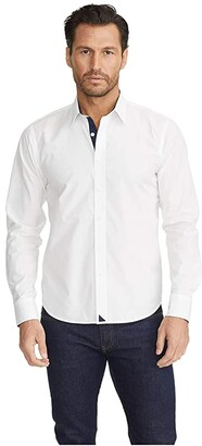 UNTUCKit Las Cases Special - Wrinkle Free (White) Men's Clothing
