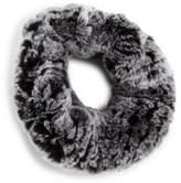 Surell Rabbit Fur Knit Headband