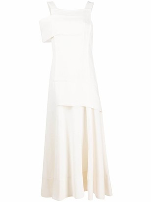 3.1 Phillip Lim Asymmetric Long Dress