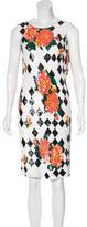 Ashish Sequined Floral-Patterned Dress