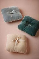 BHLDN Velveteen Ring Pillow