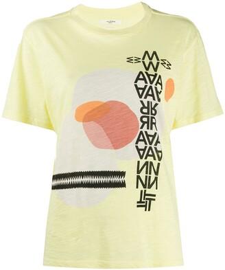 Etoile Isabel Marant Pewela graphic print T-shirt