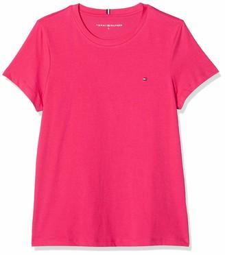 Tommy Hilfiger Women's New Crew Neck TEE Sports Knitwear