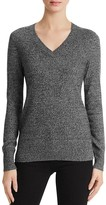 Aqua Cashmere V-Neck Sweater