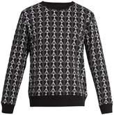 Marcelo Burlon County of Milan X Kappa logo-print cotton-blend sweatshirt