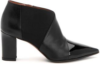 Mila Louise Waterproof Patent Leather Booties