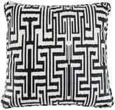Eichholtz Ozbek Cushion Black Cream Polyester 60x60cm