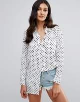 Daisy Street Star Print Shirt