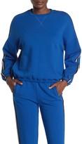 ATM Anthony Thomas Melillo Side Stripe French Terry Sweatshirt
