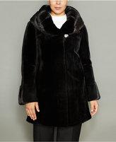 The Fur Vault Plus Size Mink Fur Coat