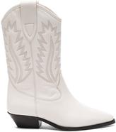 Etoile Isabel Marant Leather Dallin Boots