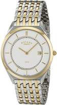 Rotary Men's gb08001/02 Analog Display Swiss Quartz Two Tone Watch