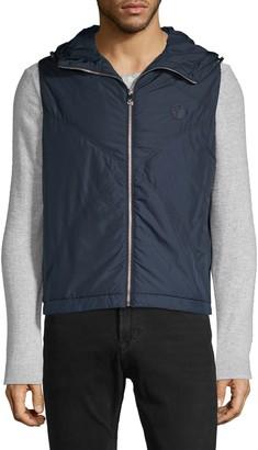 Versace Down Hooded Vest