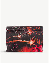 Loewe Fireworks leather pouch