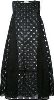 Wunderkind mesh dot tent dress - women - Silk/Cotton - 36