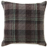 Daniel Cremieux Sullivan Plaid Diamond Quilted Square Pillow