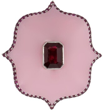 Bayco Platinum Ruby Ring