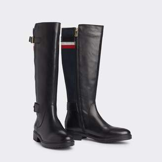 Tommy Hilfiger Leather Riding Boot