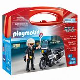 Playmobil Police Carrying Case Playset - 5648