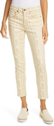 Nili Lotan Crop Skinny Jeans