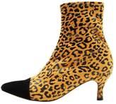 Won Hundred KENDALL Boots yellow print