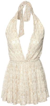 Missoni Viscose Blend Knit Mini Jumpsuit
