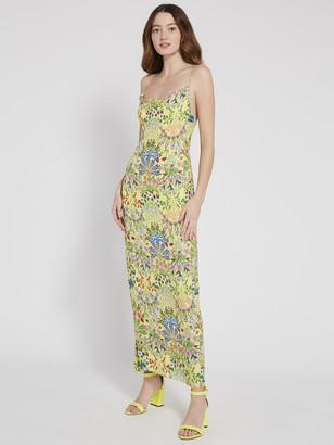 Alice + Olivia Harmony Floral Midi Dress