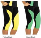 Fajate Women's 'Tierra' Fitness Capri Leggings
