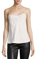 The Row Biggins Textured Silk Camisole Top