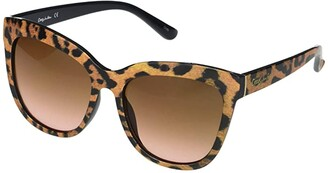 Sam Edelman Oversized Cat-Eye (Leopard) Fashion Sunglasses