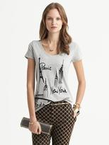 Banana Republic Sketch Graphic City Tee