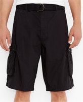 Levi's Men's Black Snap Cargo Shorts