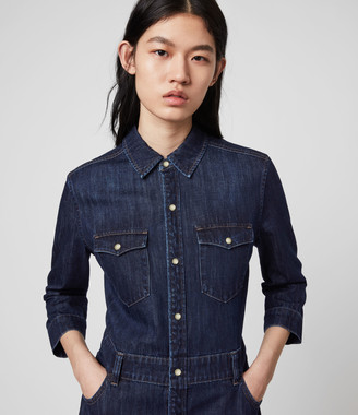 AllSaints Polly Denim Dress