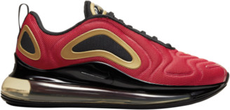 Nike 720 Running Shoes - Red / Black Metallic Gold