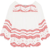 Paul & Joe Broderie Anglaise Cotton-voile Blouse - 2