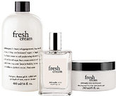 philosophy Fresh Cream Layering Trio