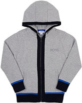 HUGO BOSS COTTON-WOOL HOODIE