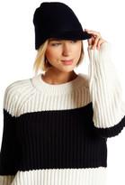Kate Spade Belted Peak Wool Hat